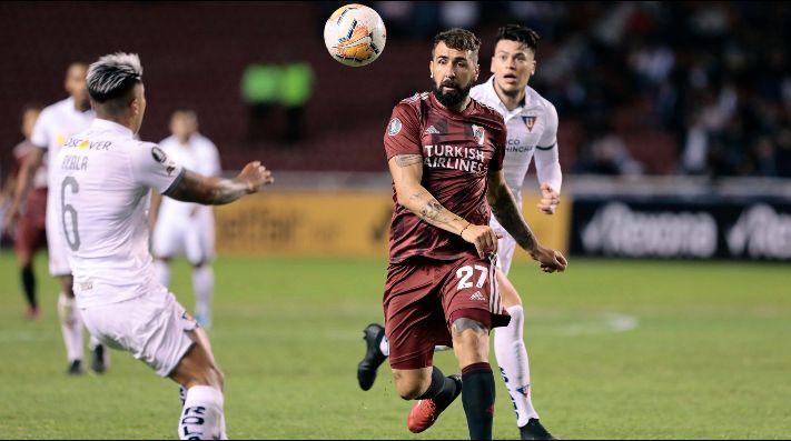 River perdió 3 a 0 ante Liga de Quito en la primera fecha de la fase de grupos.