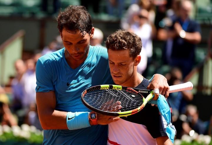 Hace dos ediciones, 'El Peque' perdió en cuartos con Rafael Nadal.