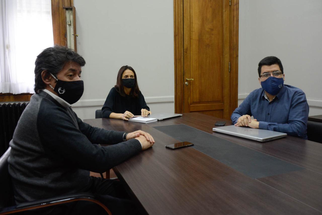 La secretaria de Responsabilidad Social de la provincia, Rocío Campos, participó de la reunión.