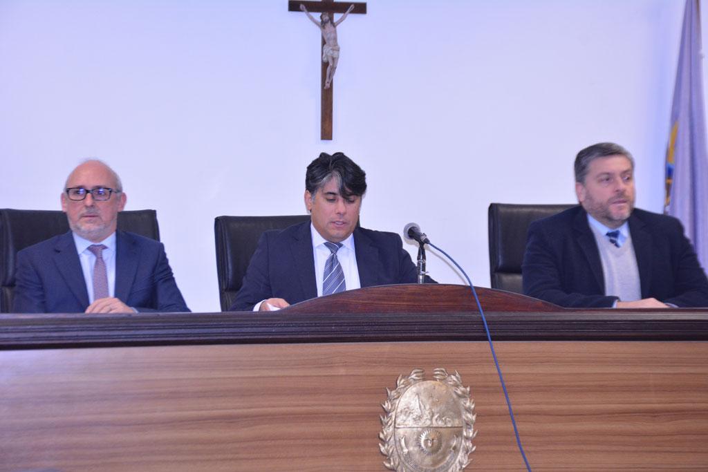 Los jueces del caso de Marcela Chocobar.