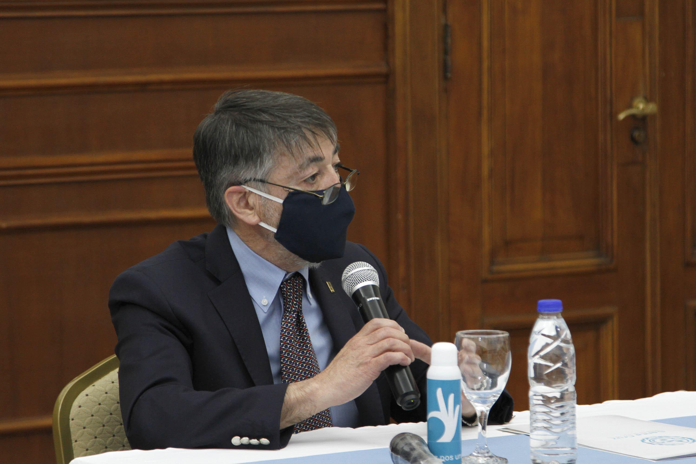 El rector de la UNPA, Hugo Rojas. FOTO: GOBIERNO