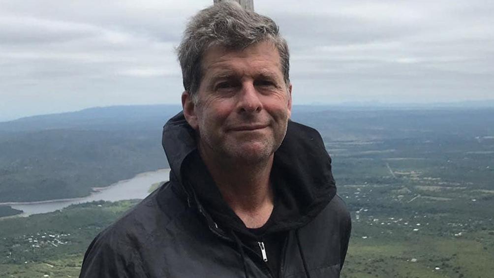 Edgardo Esteban, excombatiente, director de Museo Malvinas y autor de 'Iluminados por el Fuego'