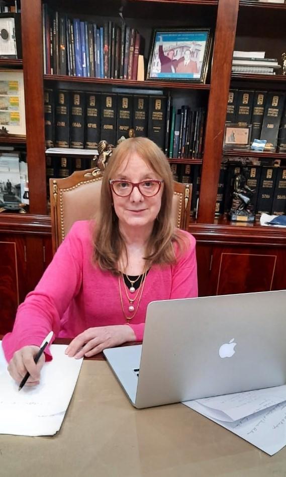 Alicia Kirchner: gobernadora de Santa Cruz.