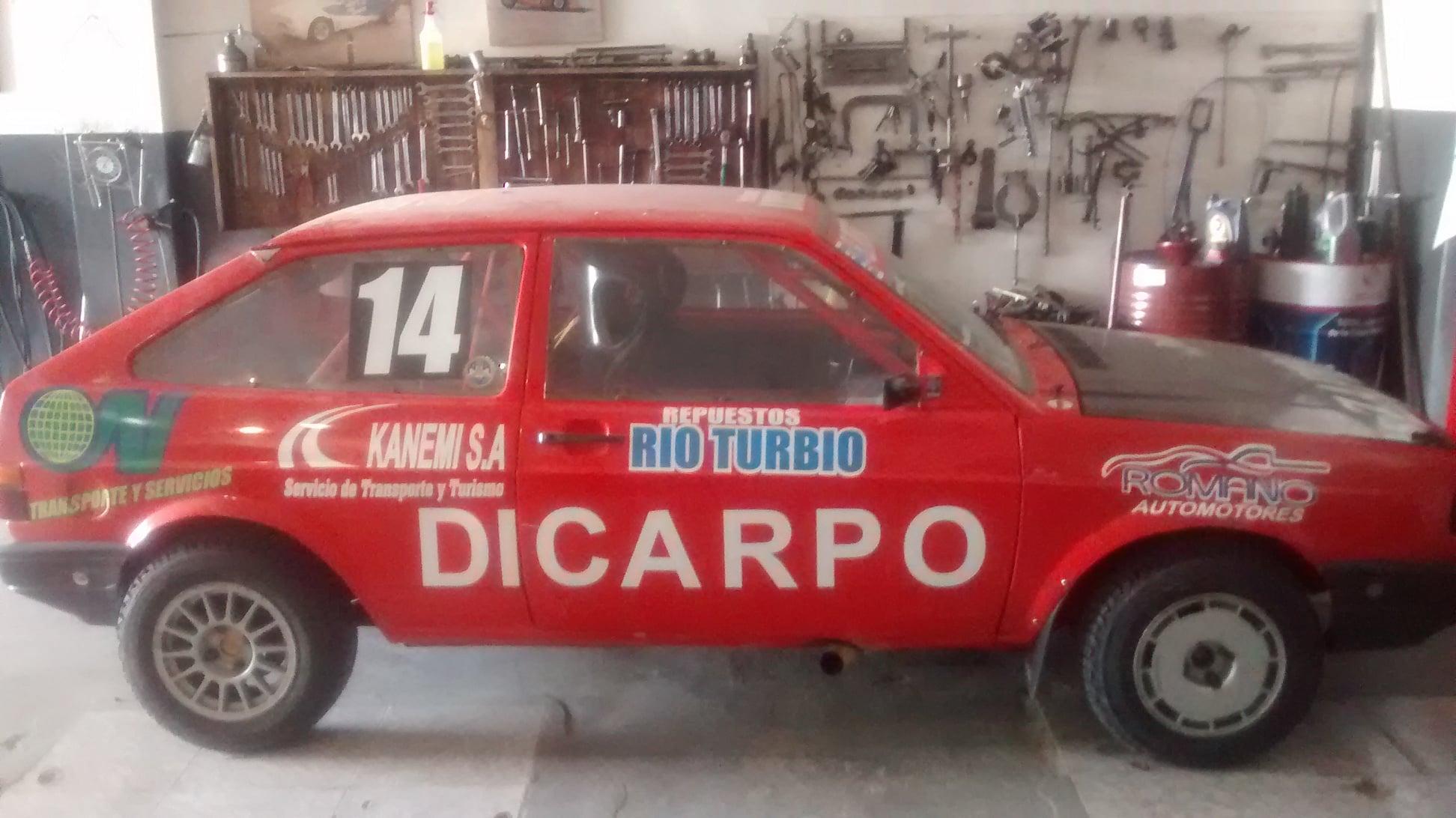 El auto de Beto Martínez
