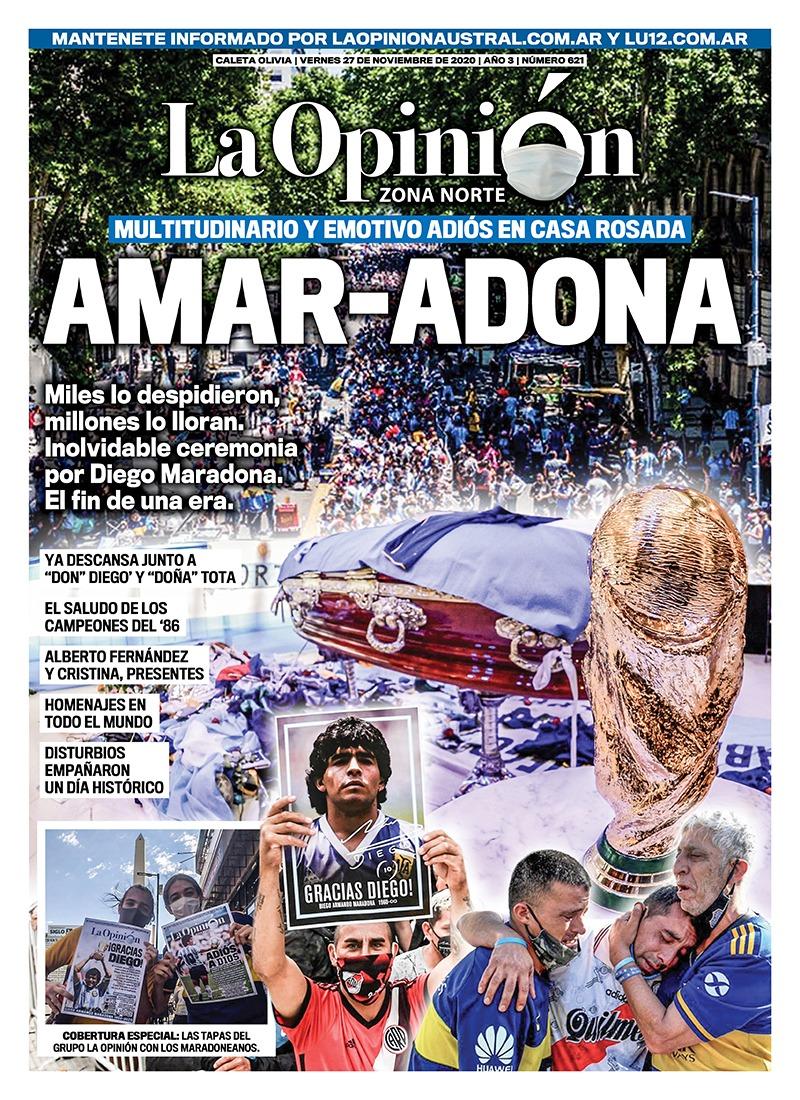 AMAR-ADONA Multitudinario y emotivo adiós en Casa Rosada. Miles lo despidieron, millones lo lloran. Inolvidable ceremonia por Diego Maradona. El fin de una era.