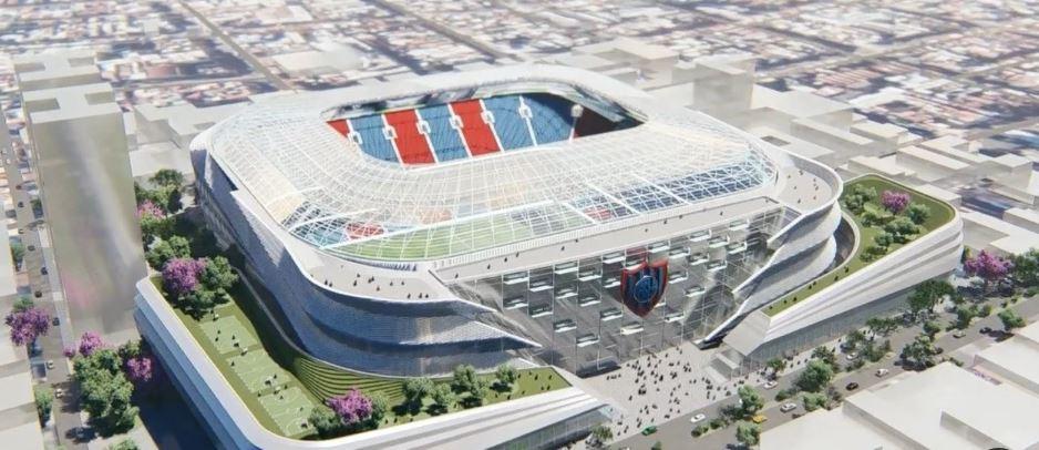 Así sería el futuro estadio de San Lorenzo en Boedo.