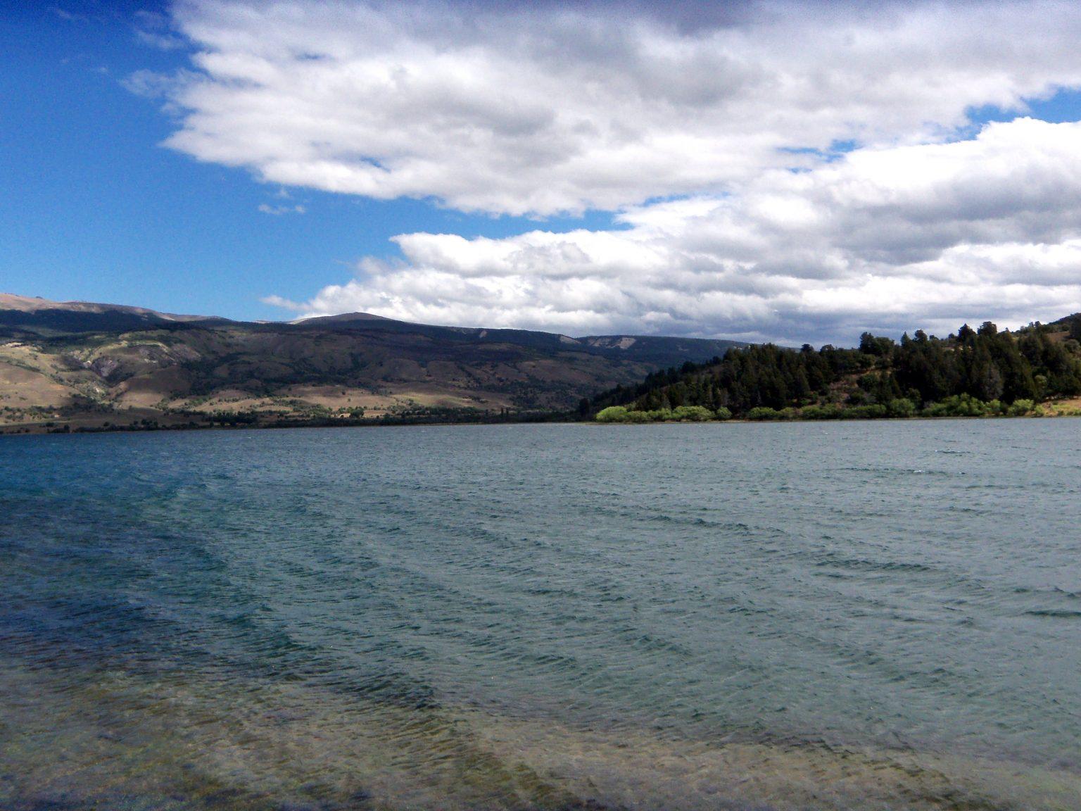 Lago Rosario, a 27 kilómetros de Trevelin, en Chubut
