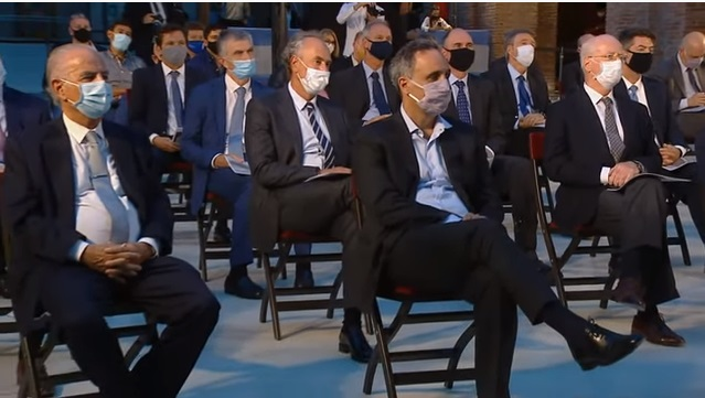 Los empresarios participaron de la presentación del Plan Gas.Ar.