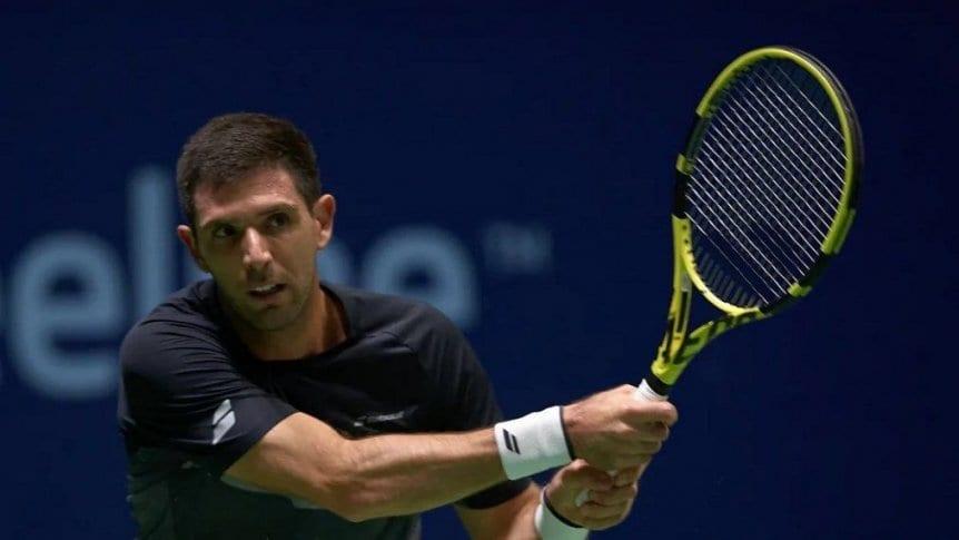 Federico Delbonis: debut y derrota en el Masters 1000 de París.