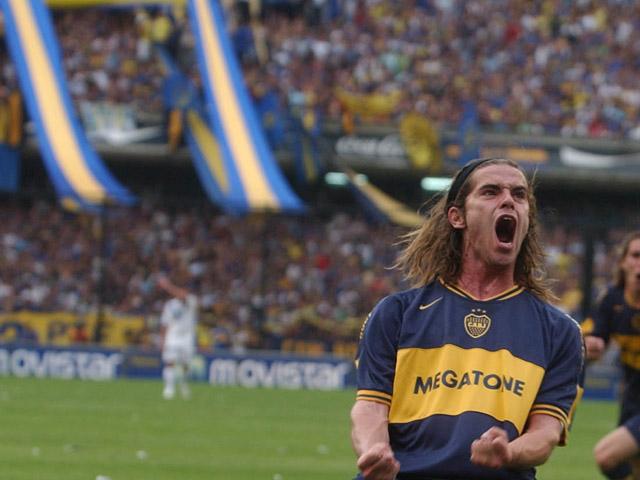 Fernando Gago en su primer paso por Boca. Foto: Fox Sports.