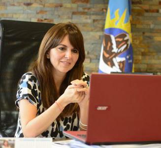 Silvina Córdoba. Ministra de la Producción, Comercio e Industria
