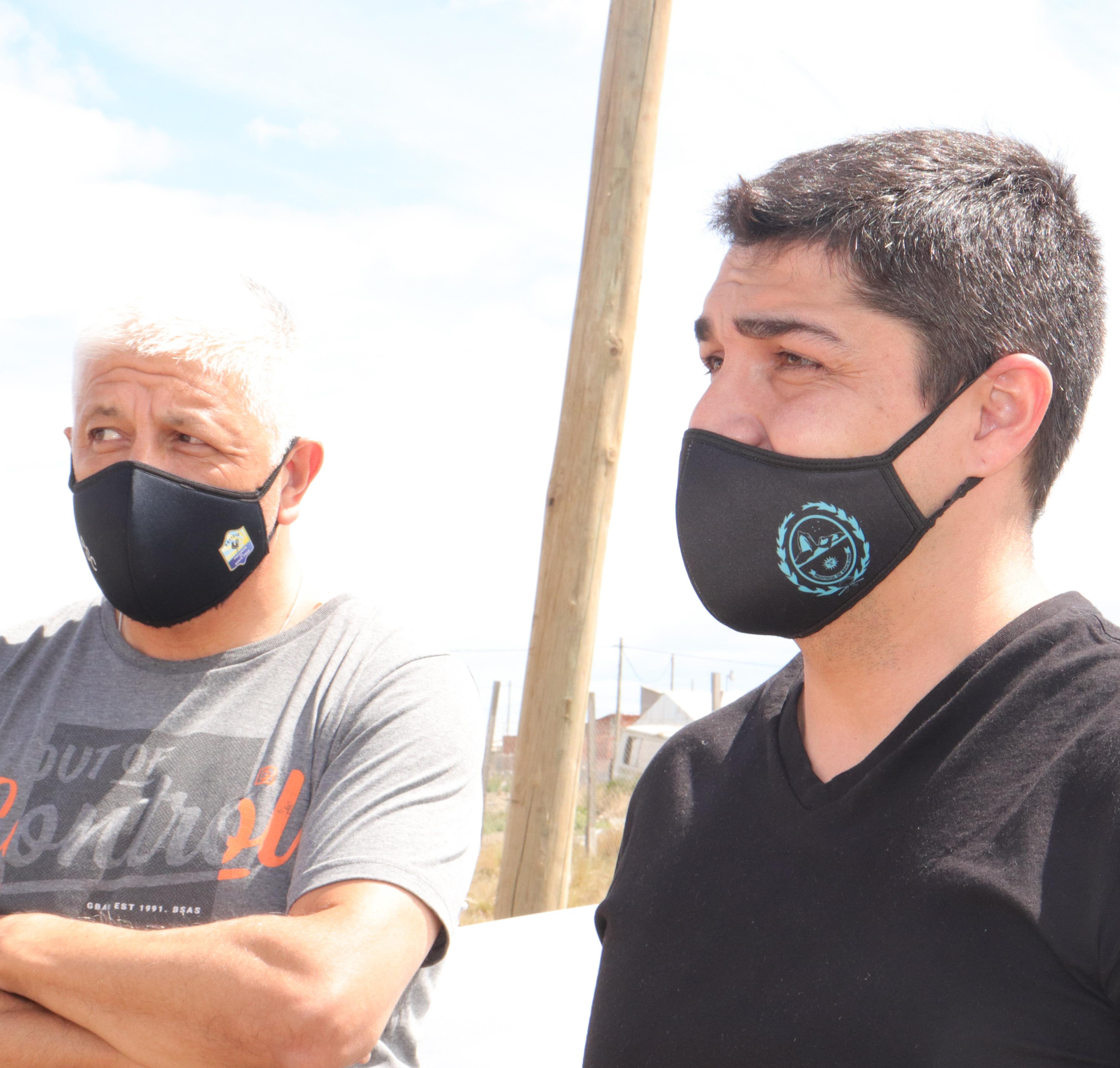 Dante Abboud y Lisandro De La Torre estuvieron a cargo del operativo.