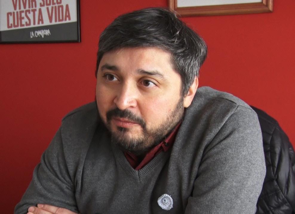 Oscar Canto, secretario de Cultura de Santa Cruz.