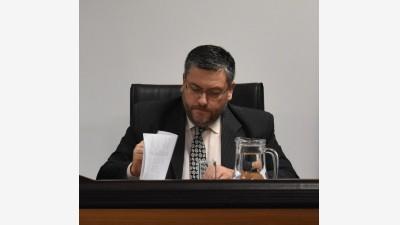 El juez Joaquín Cabral. (FOTO: LA OPINIÓN AUSTRAL)