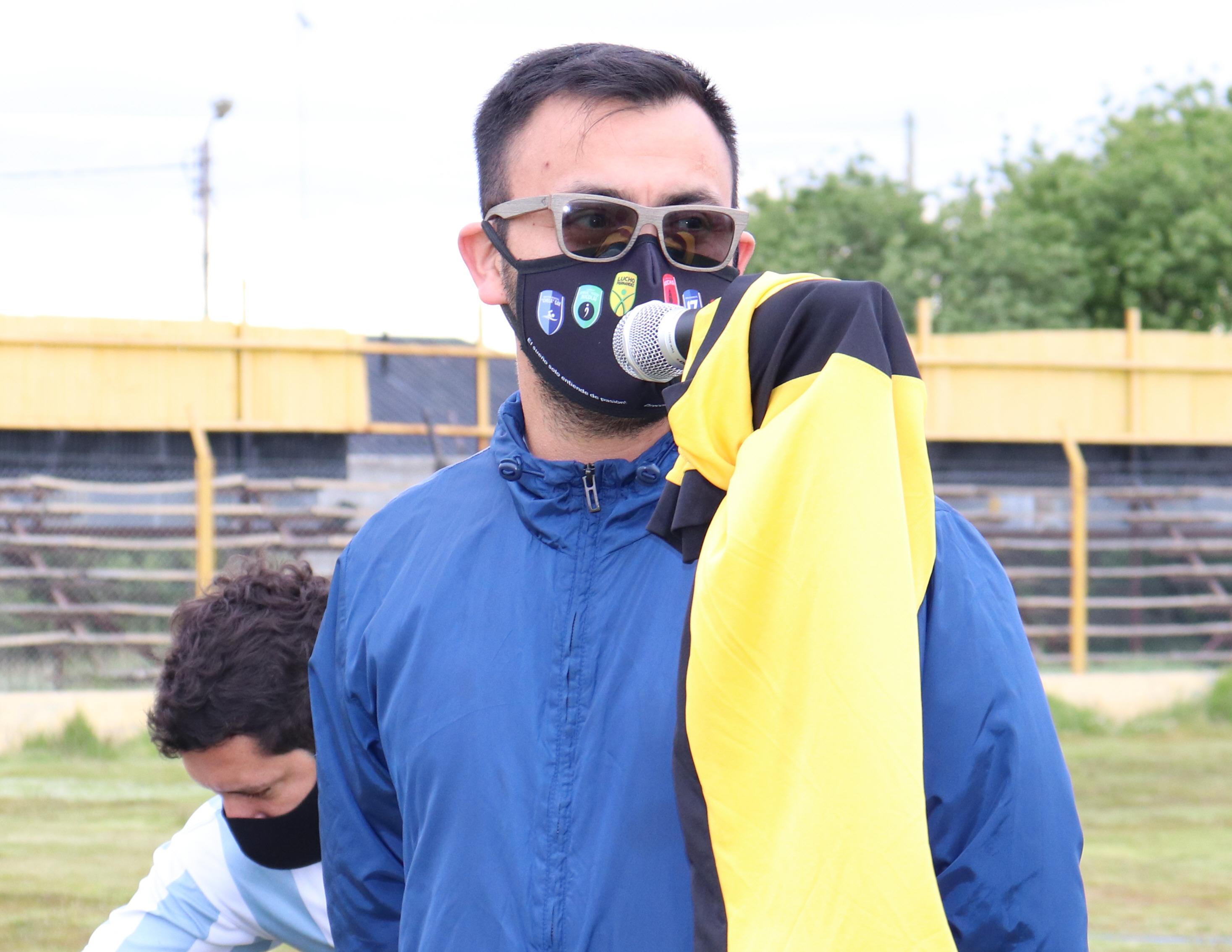 Sergio Vilche, director de Deportes.FOTO: MIRTA VELÁSQUEZ / LA OPINIÓN AUSTRAL