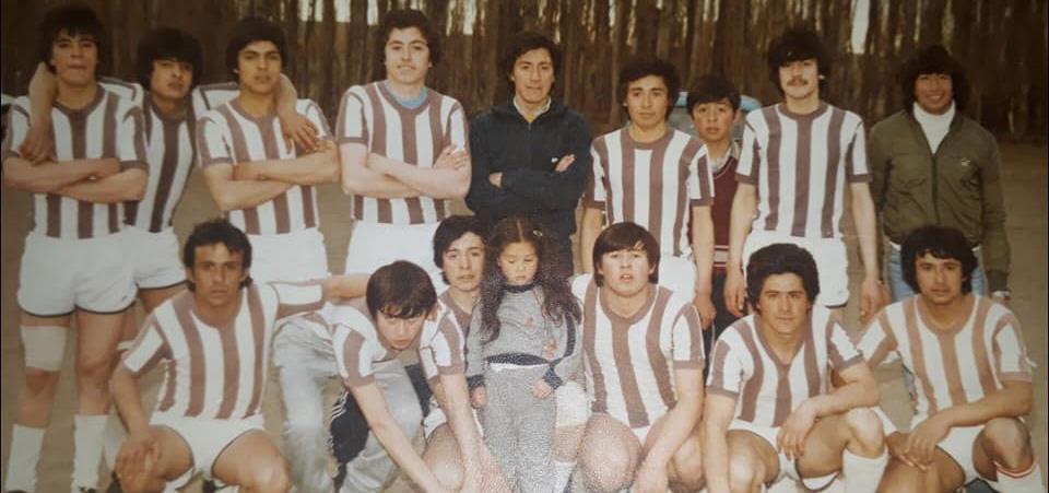 Aquel equipo de Unión Deportiva en 1984, que luego pasaría a llamarse San Lorenzo de Perito Moreno.
