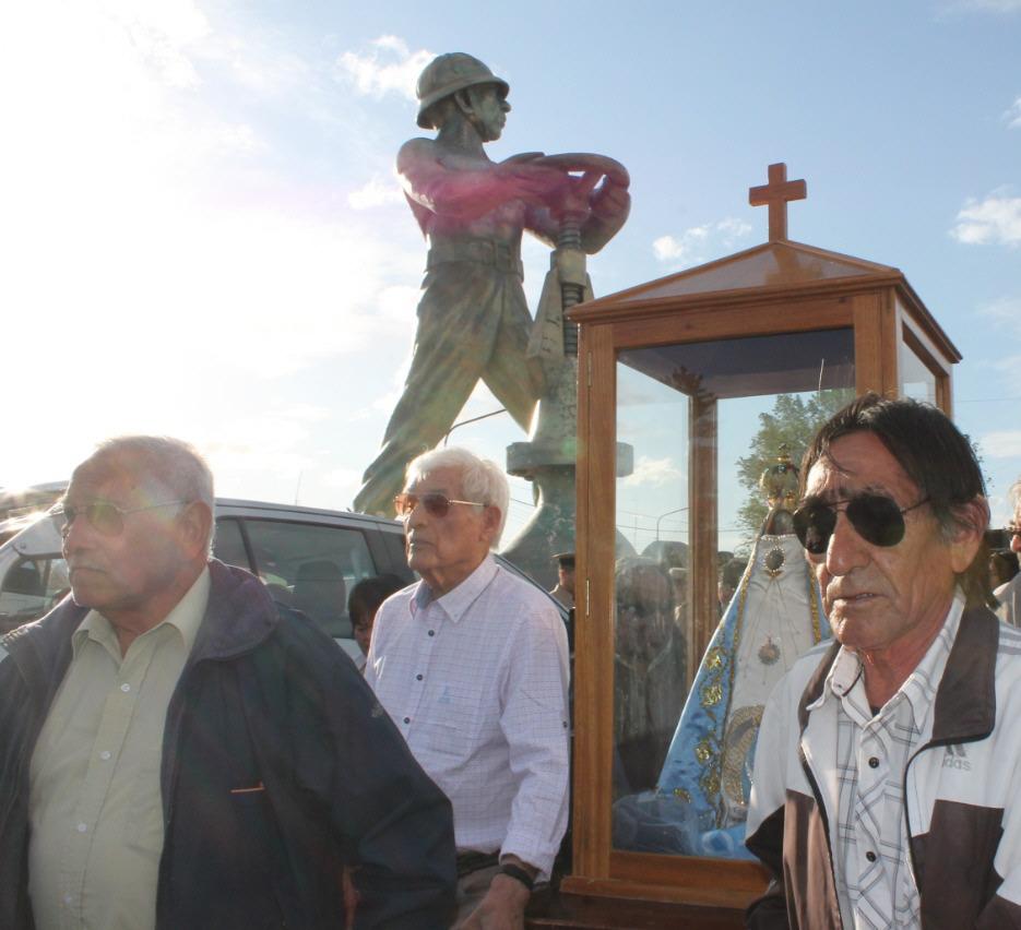 En 2019, caravana a 40 años de la llegada de la Virgen del Valle.