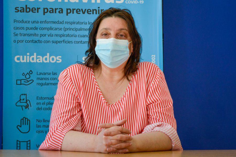 Doctora Laura Beveraggi, subsecretaria de Acceso y Equidad en Salud.