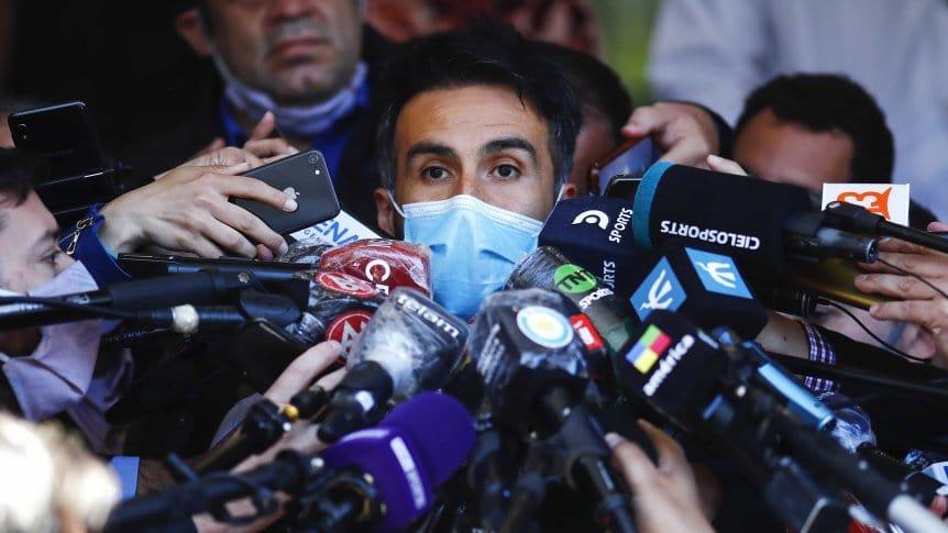 Leopoldo Luque, médico personal de Diego Maradona.