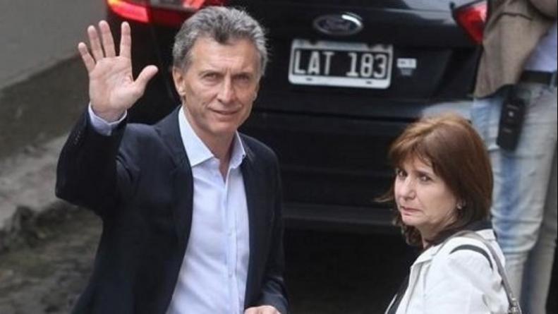 Macri y Bullrich.