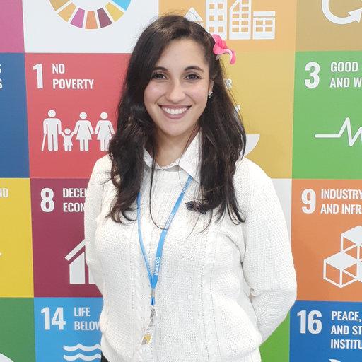 Licenciada en Ciencias Ambientales, Magalí Ovejero.