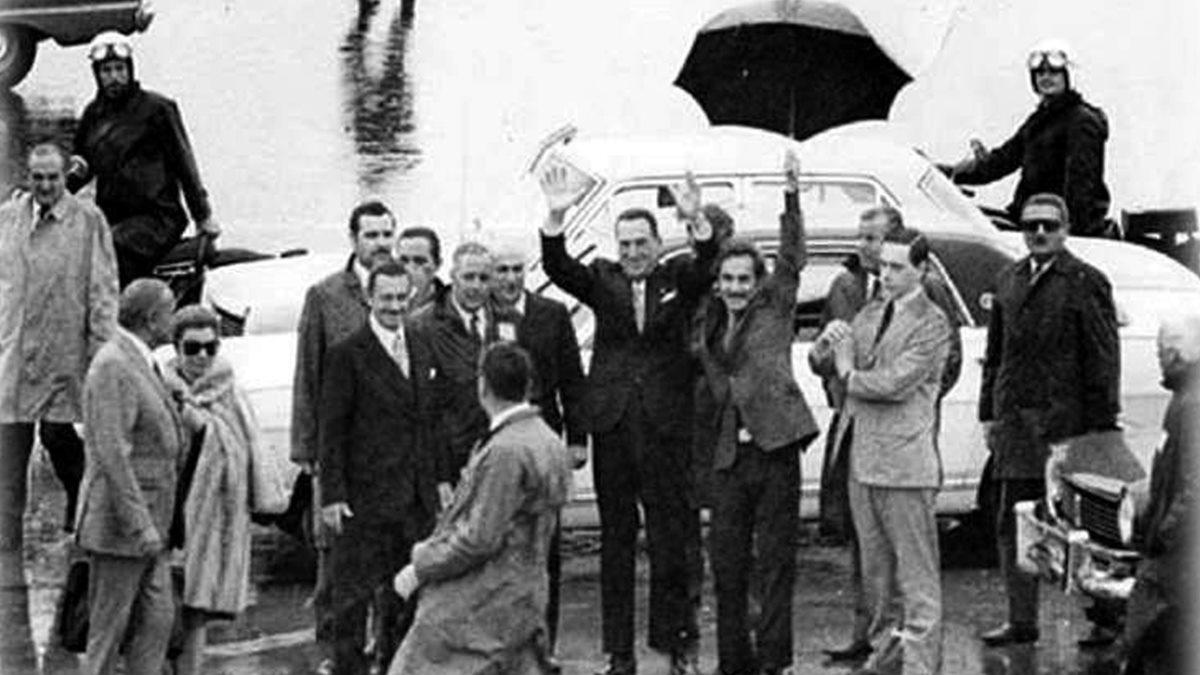 Perón y el regreso en 1972.