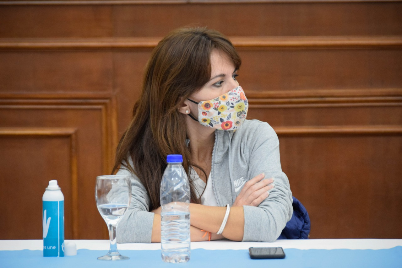 La ministra de Producción, Comercio e Industria, Silvina Córdoba. FOTO: GOBIERNO