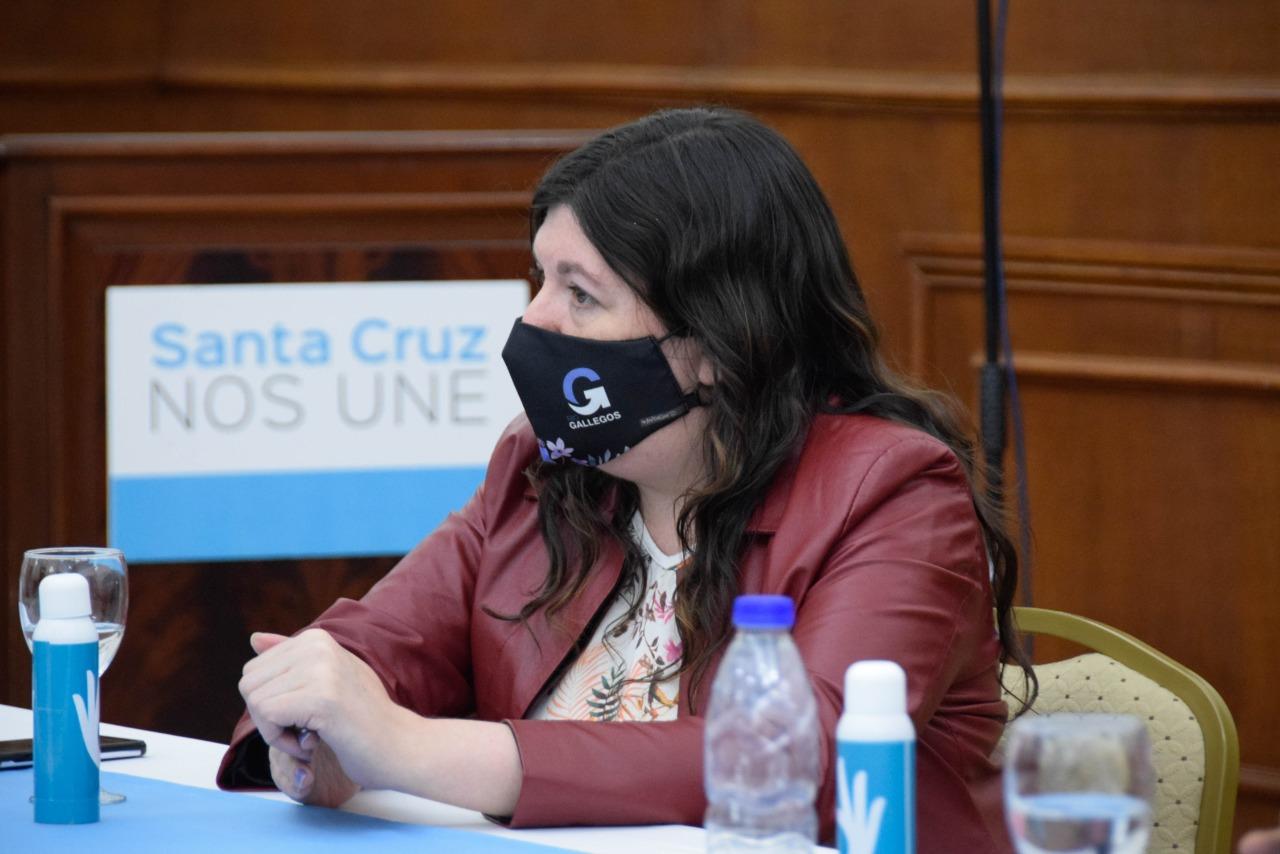 La secretaria de Niñez, Adolescencia y Familia, Julia Beatriz Chalub. FOTO: GOBIERNO