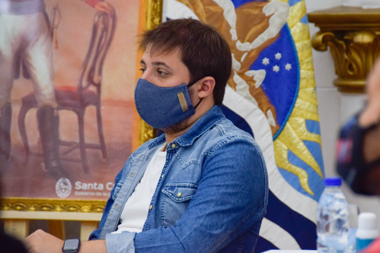 El ministro de Gobierno Leandro Zuliani. FOTO: GOBIERNO