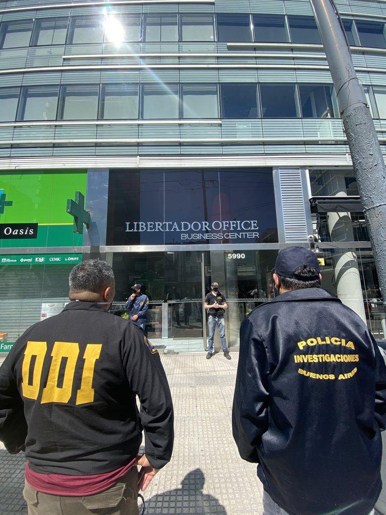 La clínica de Leopoldo Luque en Belgrano, Capital Federal