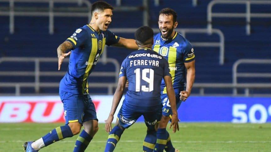 Con goles de Gamba y Ojeda, Rosario Central venció 2 a 1 a Godoy Cruz.