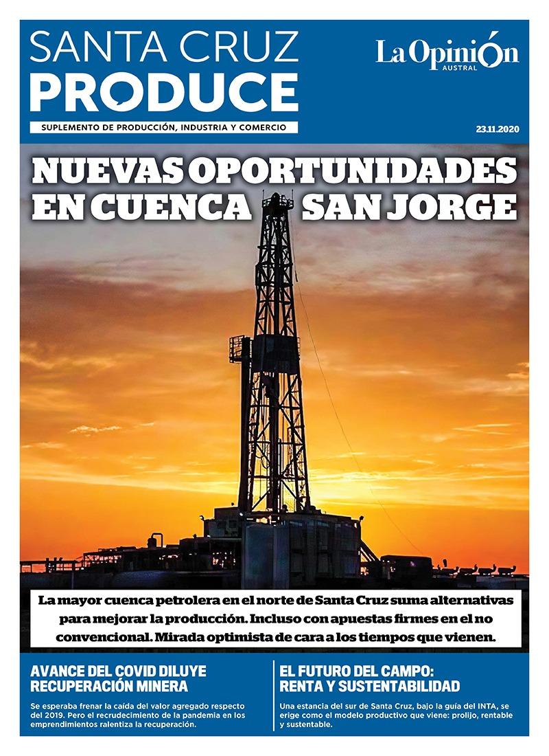 'Nuevas oportunidades en Cuenca San Jorge'