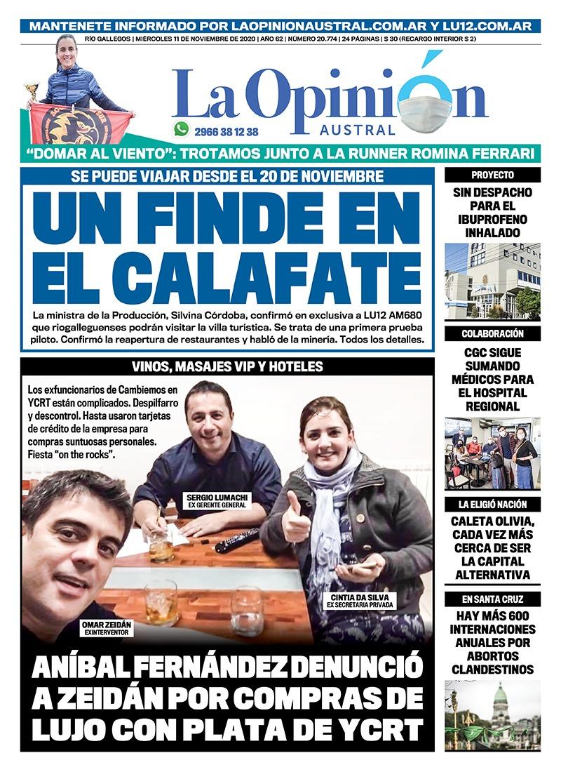 'Un finde en El Calafate'