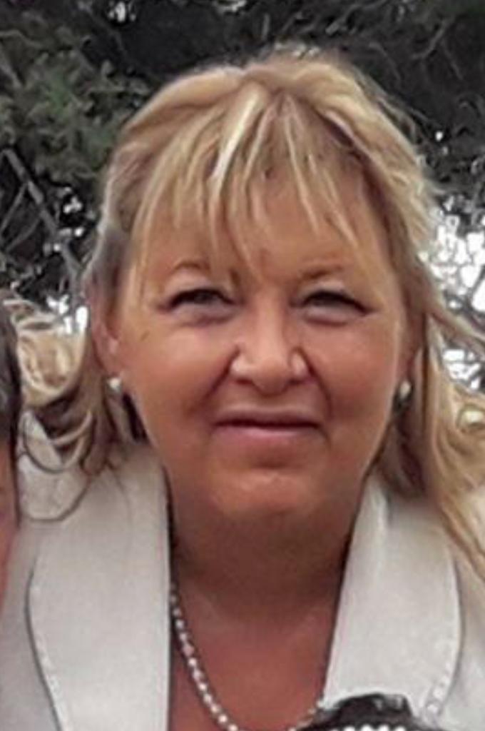 María Esperanza, 58 años.