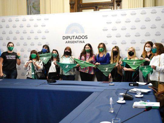 La reunión entre Massa y la Campaña de Aborto Legal estuvo integrada por Malena Galmarini.