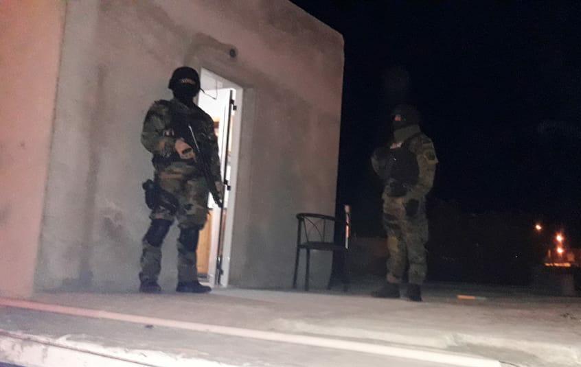 Fuerzas Especiales estuvo presente en los allanamientos al agresor.