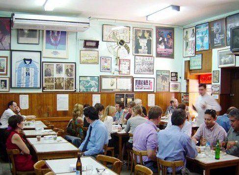 El Cuartito, la pizzería elegida por el 10.