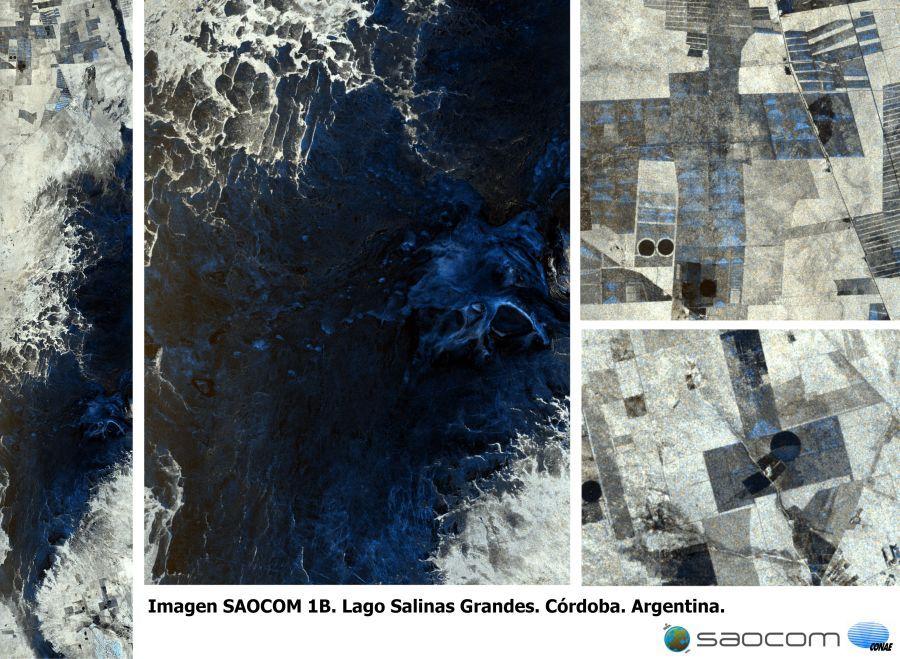 Zona de Lago Salinas Grandes, en la provincia de Córdoba.