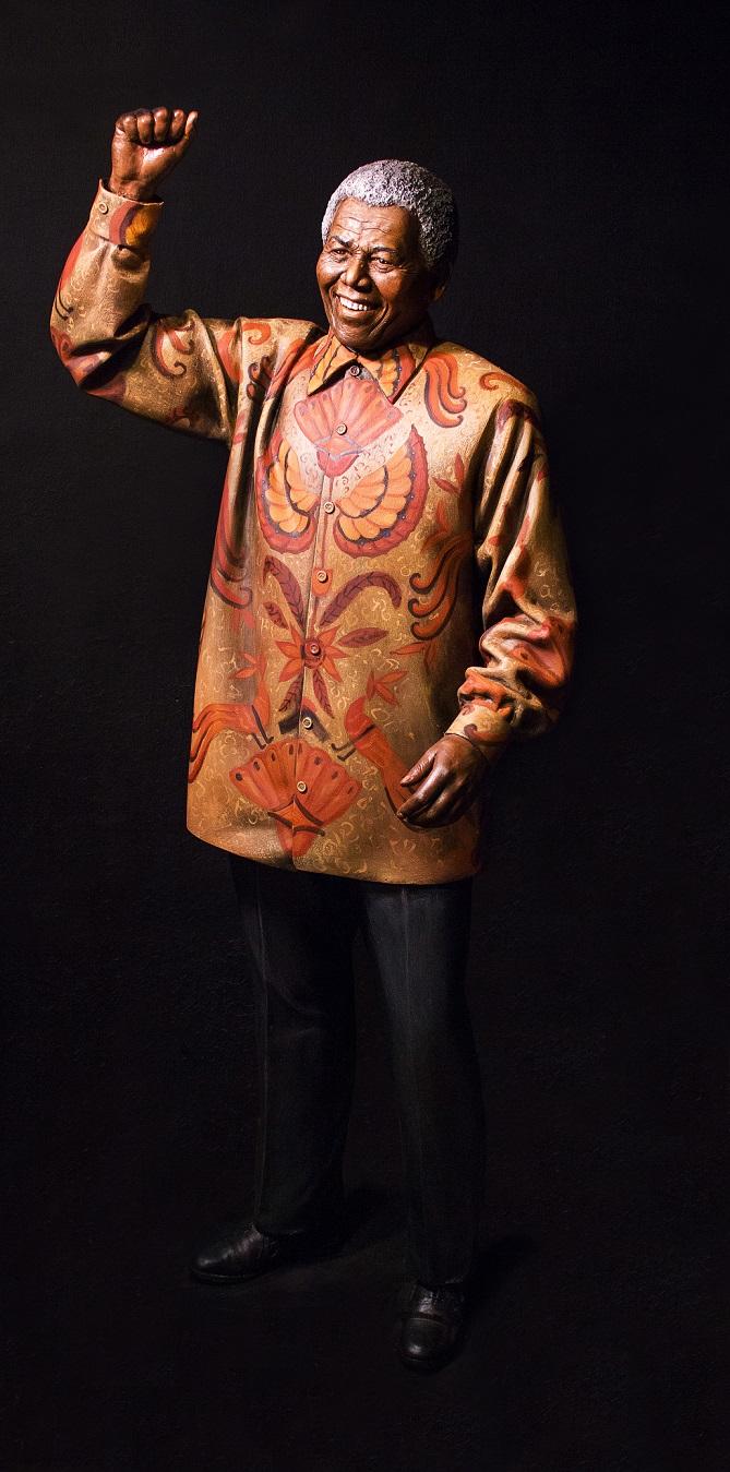 Nelson Mandela (FOTO: ESTUDIO PUGLIESE)