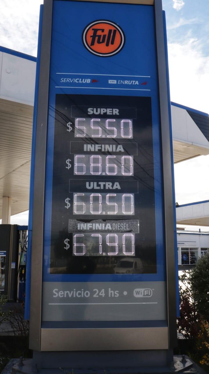 Los precios en la capital santacruceña