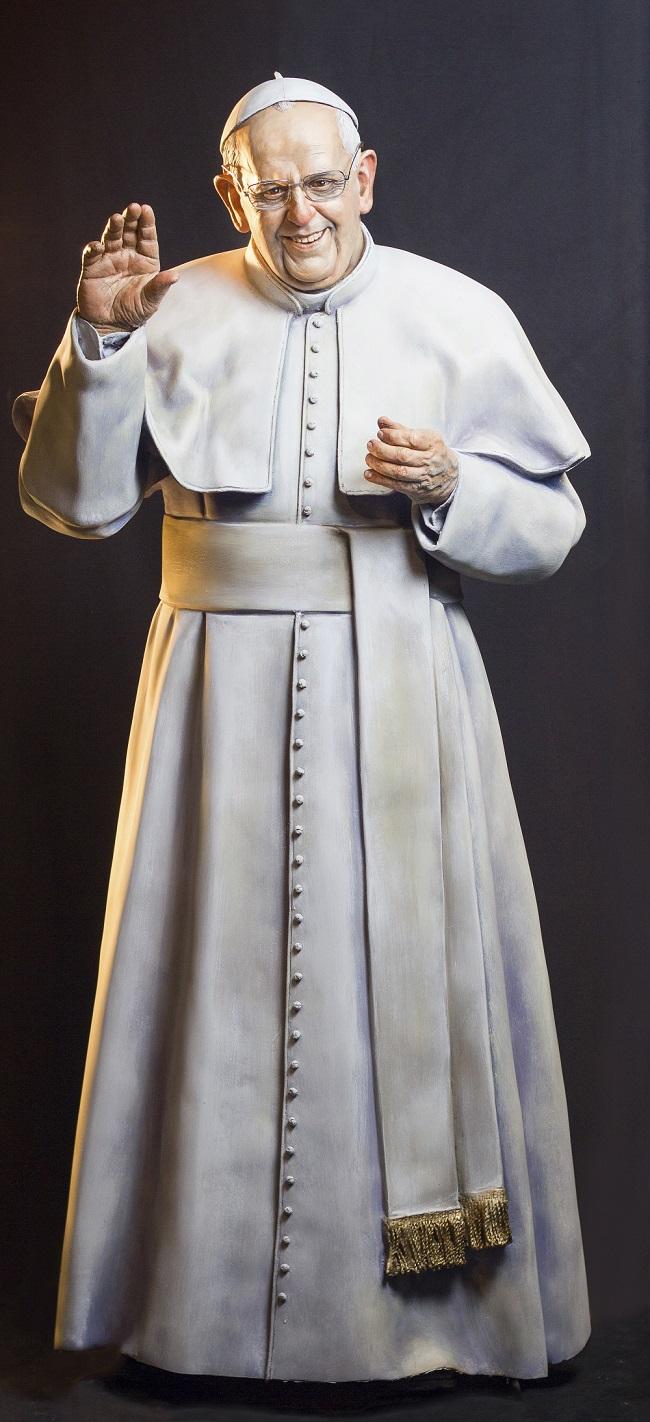 Papa Francisco. (FOTO: ESTUDIO PUGLIESE)