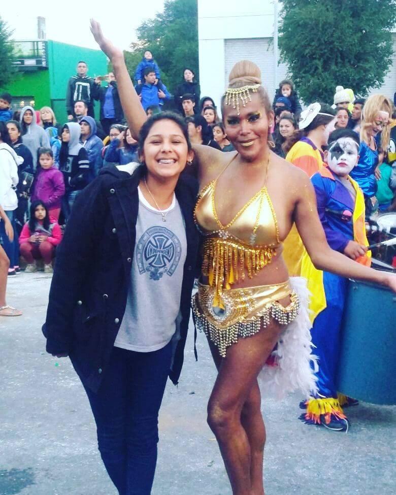 A sus 48, Pato es directora de Diversidad del municipio y sigue participando en las murgas de carnaval.