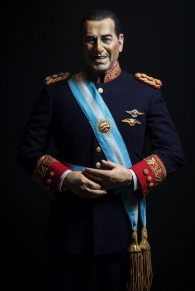 Juan Domingo Perón. (FOTO: ESTUDIO PUGLIESE)