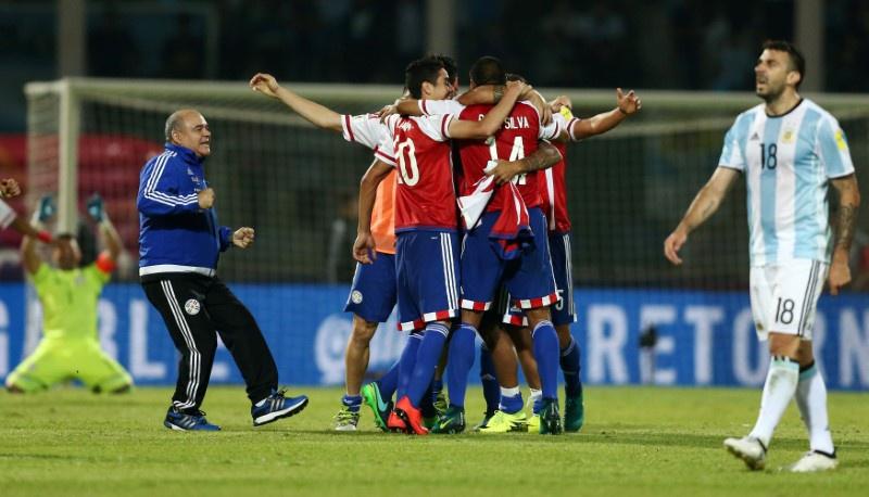 Victoria guaraní en suelo argentino: 11/10/2016, Paraguay vencía a Argentina por 1 a 0 en Córdoba.
