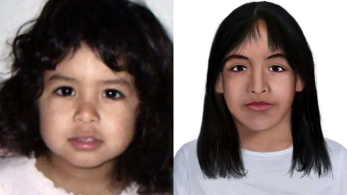 La última actualización del rostro de Sofía Herrera, tras 12 años de su desaparición.