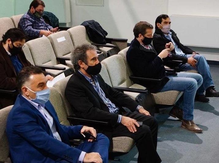 Del acto, además, participaron el jefe de Gabinete, Leonardo Álvarez, y el ministro de Economía, Ignacio Perincioli.