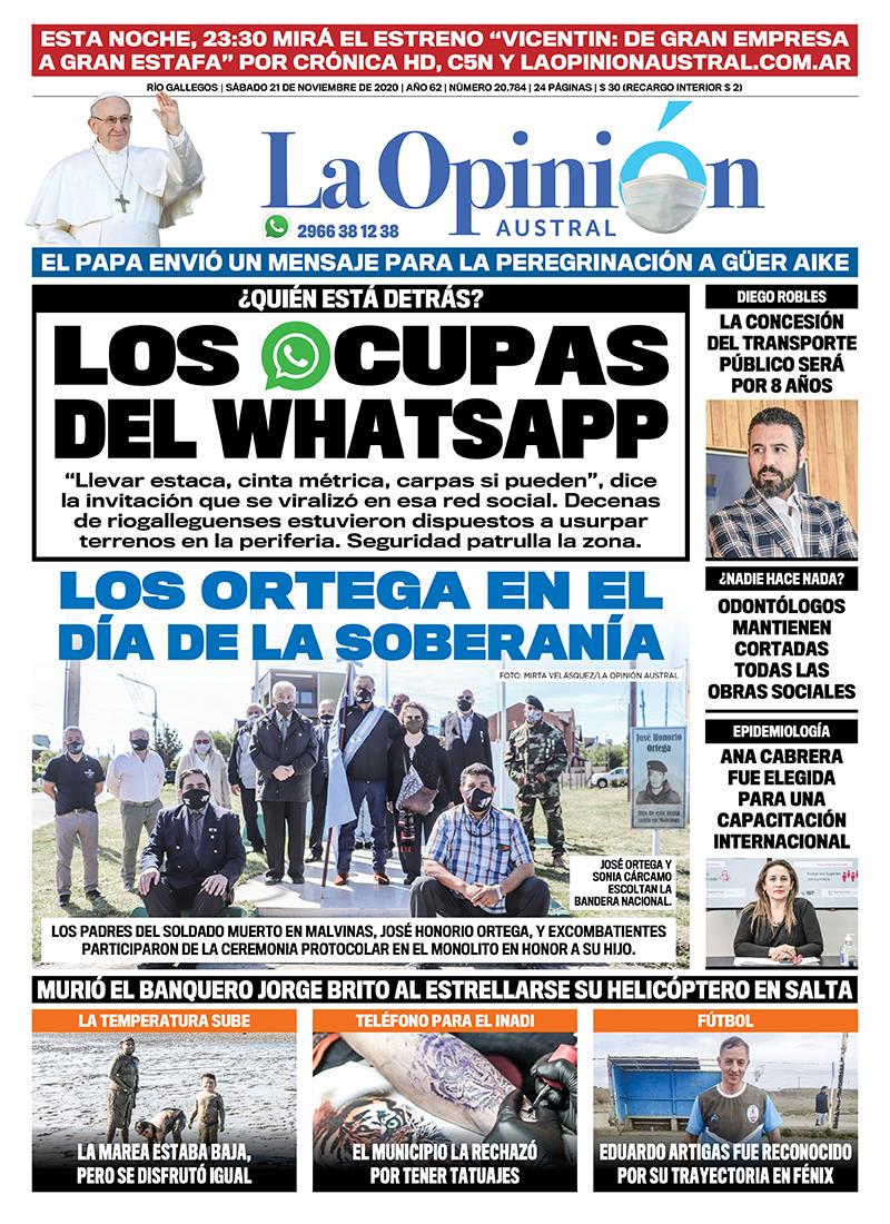 'Los ocupas de WhatsApp'