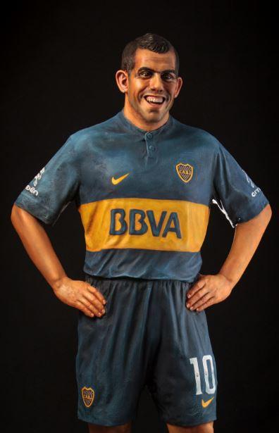 Carlos Tevez. (FOTO: ESTUDIO PUGLIESE)