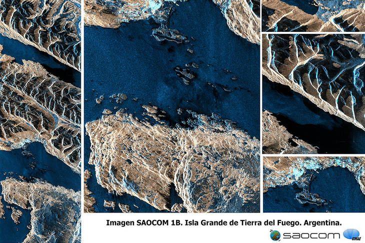 Zona del canal de Beagle, en la isla grande de Tierra del Fuego.