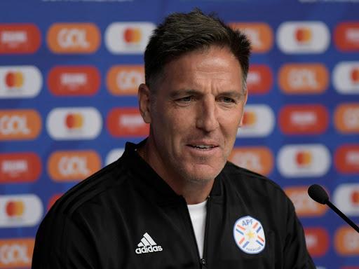 Eduardo Berizzo, actual entrenador de la selección paraguaya de fútbol.